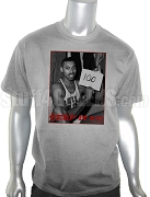 Kappa Alpha Psi Wilt Chamberlain 100 Points Vintage DTG Printed T-Shirt, Gray