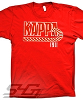 KAPPA Kane 1911 Screen Printed T-Shirt