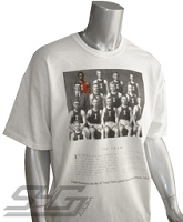 Kappa Frank Summers Vintage Screen Printed Tee, White