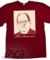 The Dreamer Screen Printed T-Shirt, Crimson