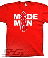 Kappa Made Man Screen Printed T-Shirt, Red