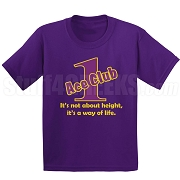 Purple/Old Gold Ace Club (Generation 1) Screen Printed T-Shirt, Purple