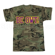Be Owt Screen Printed T-Shirt, Camo
