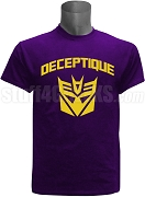 Omega Psi Phi DeceptiQUE Screen Printed T-Shirt, Purple