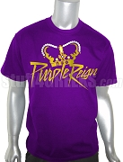 Omega Psi Phi Purple Reign Screen Printed T-Shirt, Purple