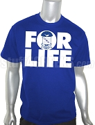 Phi Beta Sigma FOR LIFE Screen Printed T-Shirt, Royal Blue