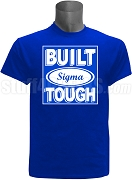 Built Tough Phi Beta Sigma Screen Printed T-Shirt, ROYAL