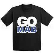 GO MAB Screen Printed T-Shirt, BLACK