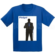 iPledged Phi Beta Sigma Screen Printed T-Shirt, Royal