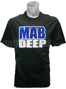 Phi Beta Sigma Mab Deep Screen Printed T-Shirt, Black