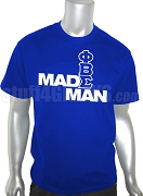 Phi Beta Sigma Made Man Screen Printed T-Shirt, Royal Blue