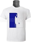 Phi Beta Sigma Scarface Screen Printed T-Shirt, White