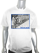 Phi Beta Sigma G.O.M.A.B. Vintage Photo DTG Printed T-Shirt, White