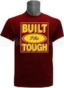 Built Tough Pi Kappa Alpha Screen Printed T-Shirt, Crimson