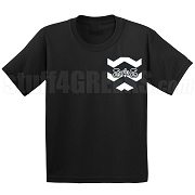Swing Phi Swing Chevron Faux Pocket Screen Printed T-shirt