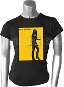 I Am SGRho iPledged-Style Screen Printed T-Shirt, Black