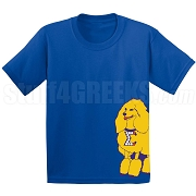 SGRho Mascot Screen Printed T-Shirt, Royal
