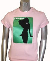 iPledged AKA, Pink Ladies Screen Printed Tee