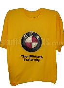 Pi Kappa Alpha The Ultimate Fraternity Screen Printed T-Shirt, Old Gold