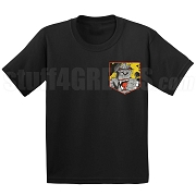 Angry Ape Faux Pocket Screen Printed T-shirt