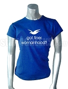 Zeta Phi Beta Got Finer Screen Printed T-Shirt, Royal Blue