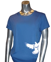 Zeta Phi Beta Mascot #1 Screen Printed T-Shirt, Royal
