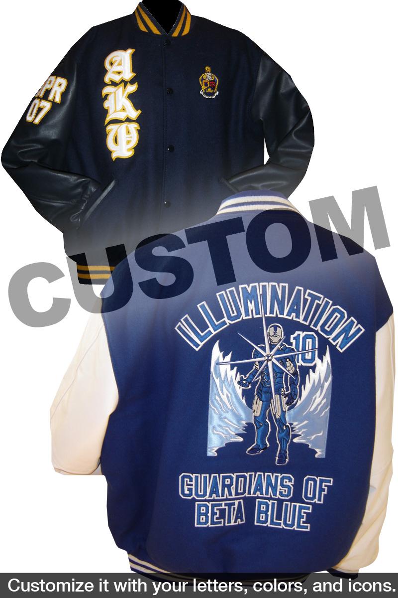 489f6261 Custom Greek Varsity Letterman Jacket