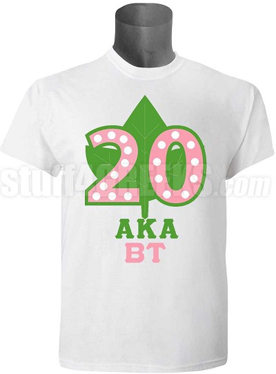 Beta Tau Chapter - Alpha Kappa Alpha Anniversary Screen Printed T-Shirt (order by July 15th )