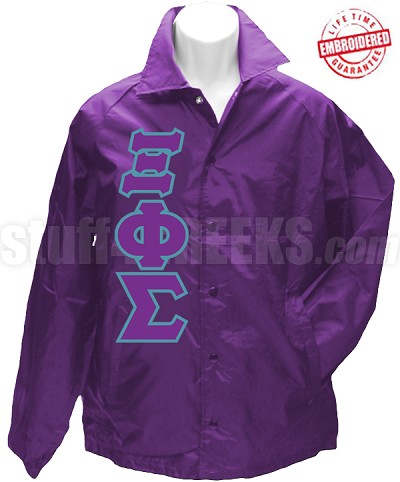 Xi Phi Sigma Crossing Jacket