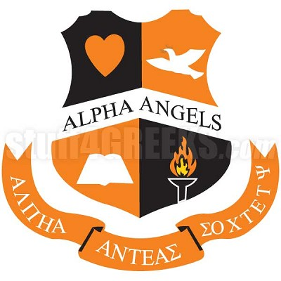 Alpha Angels Crest Patch
