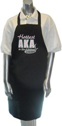 Hottest AKA in the Kitchen Apron