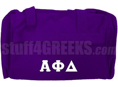 Alpha Phi Delta Duffel Bag, Purple