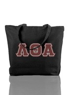 Lambda Theta Alpha Triple-Layered Letter Tote Bag