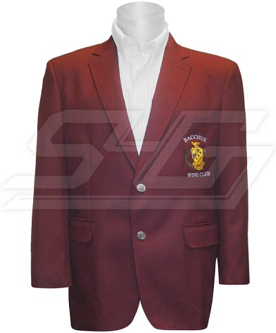 Personalized Embroidered Mens Blazer