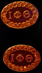 Iota Phi Theta Jeweled Cufflinks