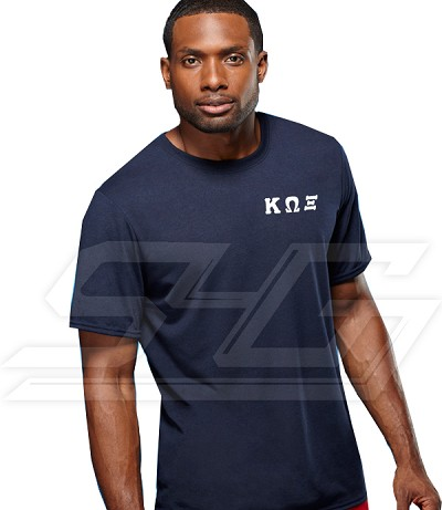Custom Athletic Performance T-Shirt (Mens Short Sleeve) - EMBROIDERED with Lifetime Guarantee