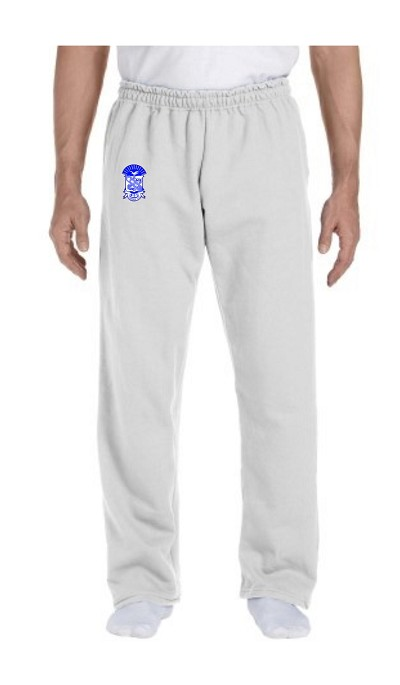 Custom Greek Sweatpants with Embroidered Crest (G123)
