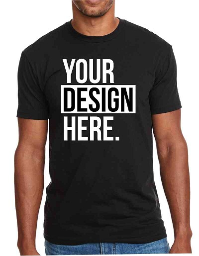 Design Your Own Custom Screen Printed T-Shirt