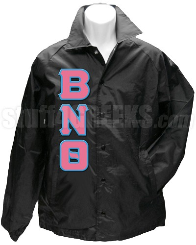 Basic Line Jacket with Front Letters Only