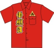 Phi Mu Alpha Old English Dickies Shirt