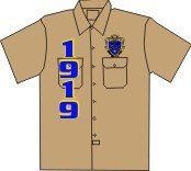 Kappa Kappa Psi/1919 Dickies Shirt