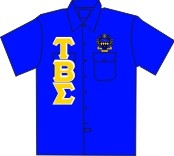 Tau Beta Sigma Dickies Shirt, Royal