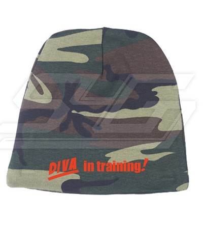 Diva in Training Camo Baby Beanie