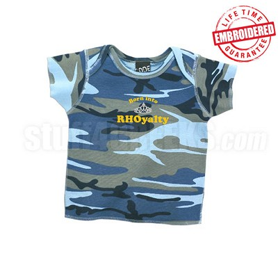 Born into RHOyalty Camo Sigma Gamma Rho T-shirt - EMBROIDERED with Lifetime Guarantee