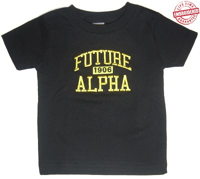 Future Alpha Phi Alpha T-shirt - EMBROIDERED with Lifetime Guarantee