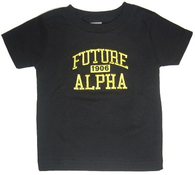 Future Alpha Phi Alpha Screen Printed T-shirt