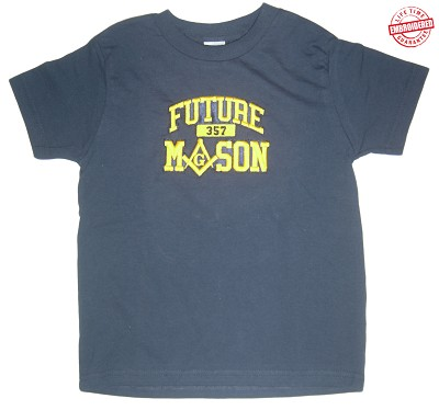 Future Mason T-Shirt - EMBROIDERED with Lifetime Guarantee