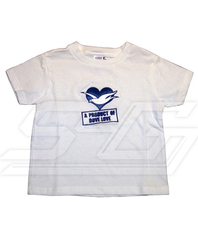 A Product of Dove Love Screen Printed T-shirt