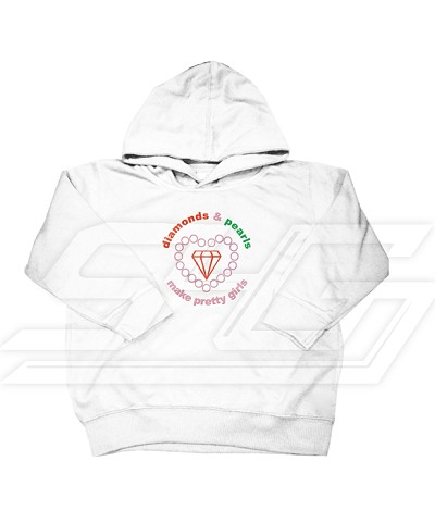 Diamonds and Pearls Make Pretty Girls Hoodie