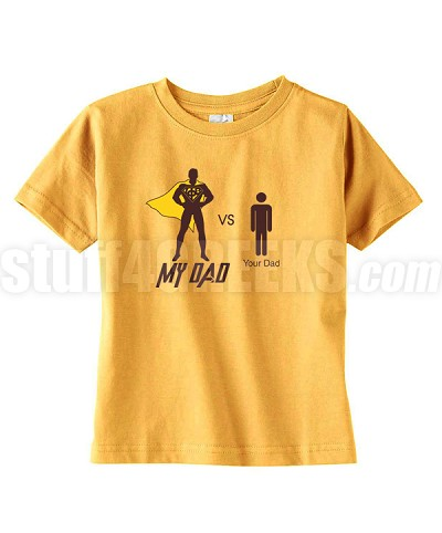 "Kids Iota ""My Dad vs Your Dad"" T-Shirt for Kids"